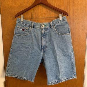 Vintage Tommy Hilfiger Jean  Shorts Size 36